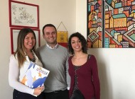 Assessore Clemente riceve la risoluzione del progetto Erasmus + Youth Committee for the Future